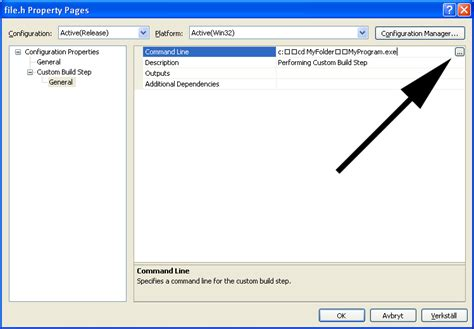 reset visual studio settings command line setting working directory for custom build steps in visual