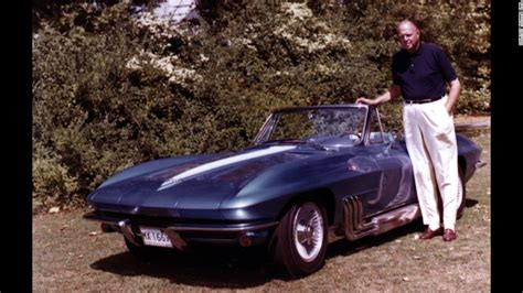 what corvette creator harley earl and steve shared