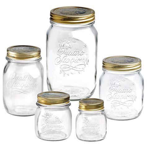 bormioli vasi 4 x bormioli quattro stagioni food preserve jars
