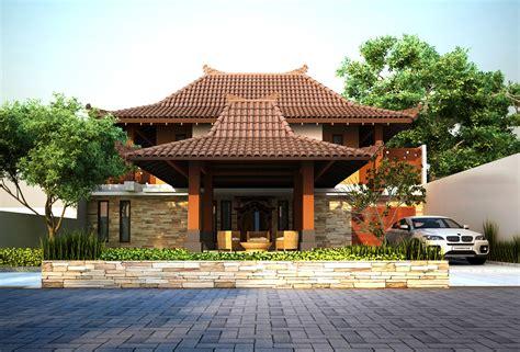 desain atap rumah joglo 45 desain rumah joglo khas jawa tengah desainrumahnya com