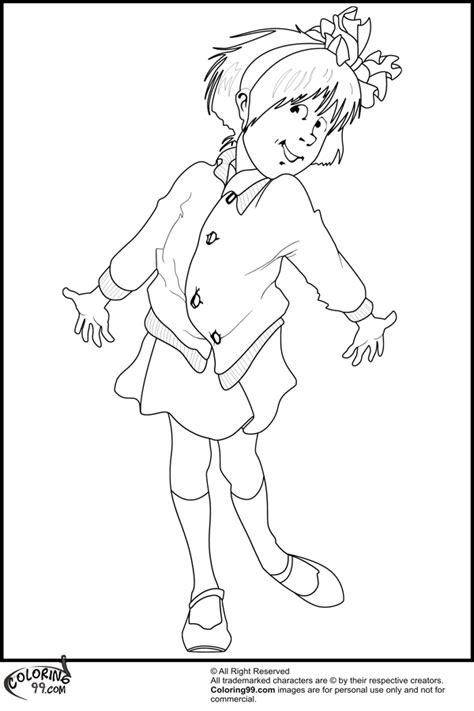 free coloring pages of junie junie b jones