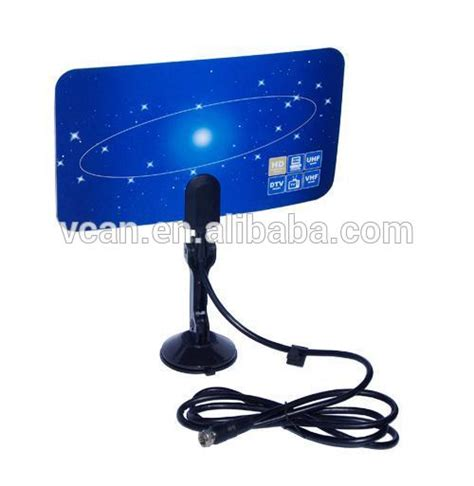 digital tv dvb t2 uhf vhf flat antenna for home use buy