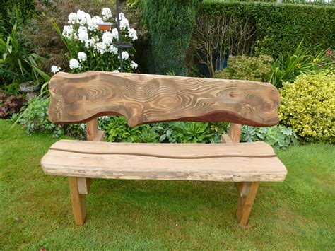 Garden Benches & Tables   The Rustic Wood Company