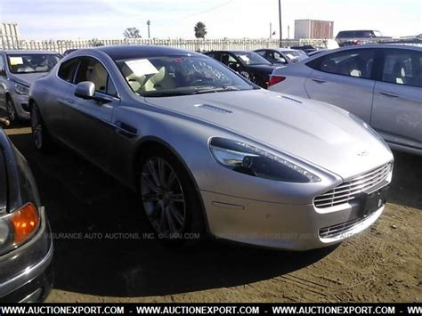 2010 Aston Martin Rapide For Sale by Used 2010 Aston Martin Rapide Car For Sale At Auctionexport