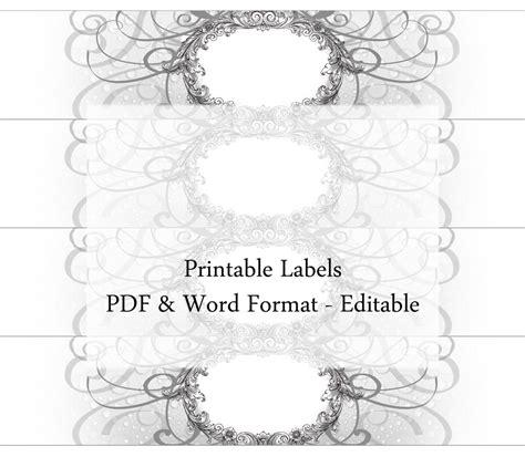 printable cigar label template soap labels editable printable custom label cigar band