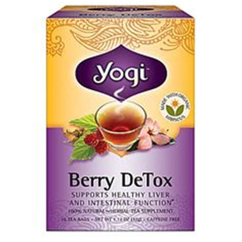 Caffeine Liver Detox by Yogi Berry Detox Tea Supports Healthy Liver And Kidney