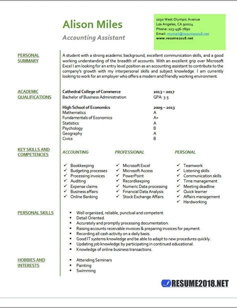 Resume Sample Real Estate by Accounting Assistant Resume Samples 2018 Resume 2018