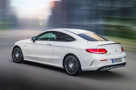 mercedes amg  coupe revealed     baby