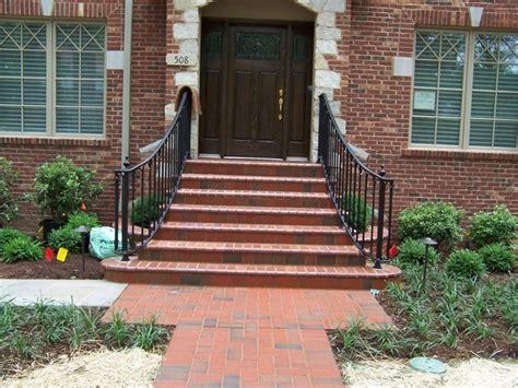 Brick Wall Planters by Clayton Missouri Brick Masonry Steps Planter Walls Entry