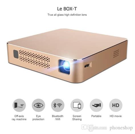 vez box  multimedia home theater video projector