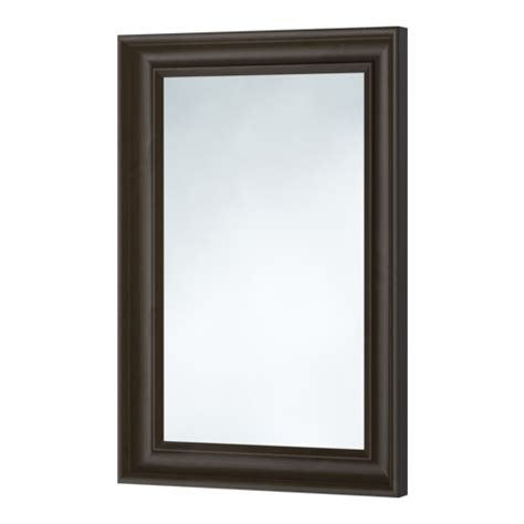 ikea mirror hemnes mirror black brown ikea