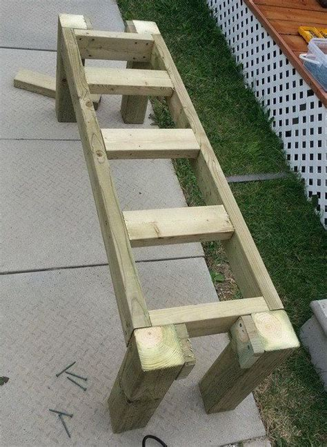 wooden deck benches best 25 patio bench ideas on pinterest patio diy