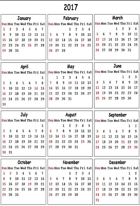 new year calendar 2017 holidays list in india state wise
