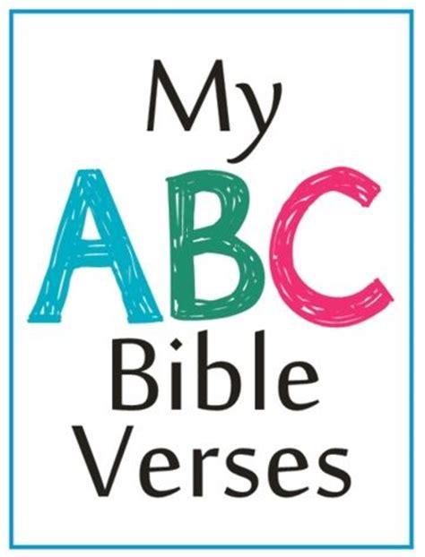 Letter Using Bible Verses abc bible verses home school