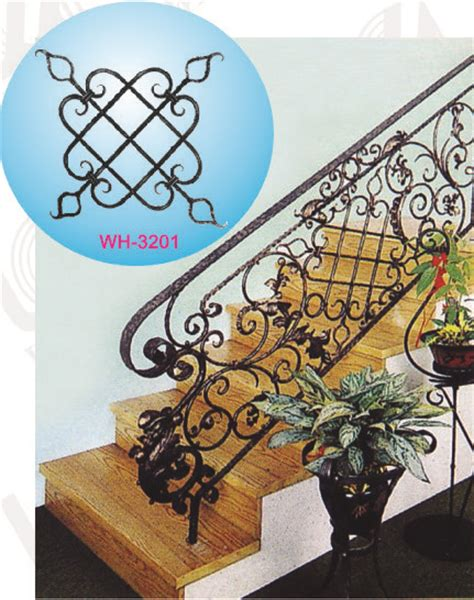 Decorative Handrails Decorative Wrought Iron Handrails Id 6219697 Product
