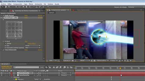 tutorial after effects kamehameha tutorial after effects kamehameha en espa 241 ol youtube