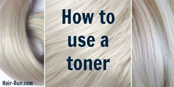 What Toner Should I Use For Orange Hair by How To Use A Toner Hairbun