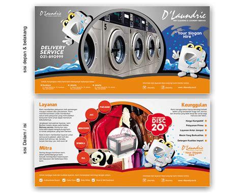 desain brosur laundry sribu flyer brochure design desain brosur untuk d laundri