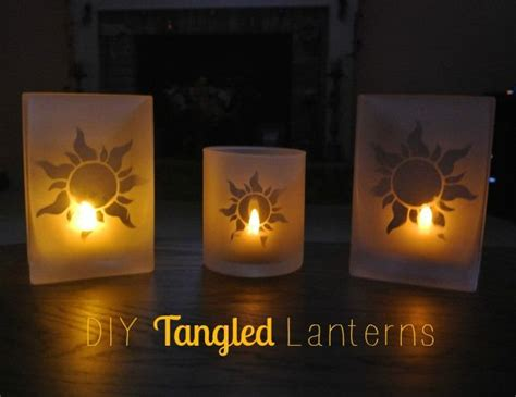 How To Make Paper Lanterns Like In Tangled - diy tangled lanterns my disney obsession