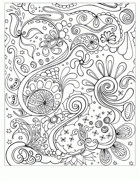 Abstract Coloring Pages To Print School Pinterest Abstract Coloring Pages To Print