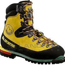 Sepatu The Mont Alpine botas rigidas alpinismo