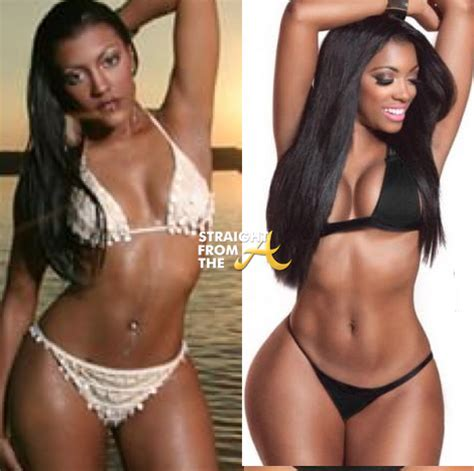 porsha williams weight gain did porsha gain weight instagram flexin rhoa phaedra