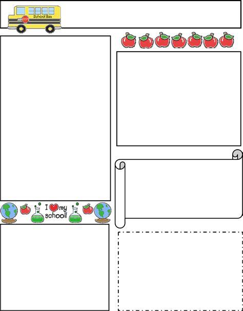 classroom newsletter template fotolipcom rich image
