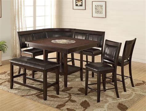 harrison corner counter height dining set dining room sets