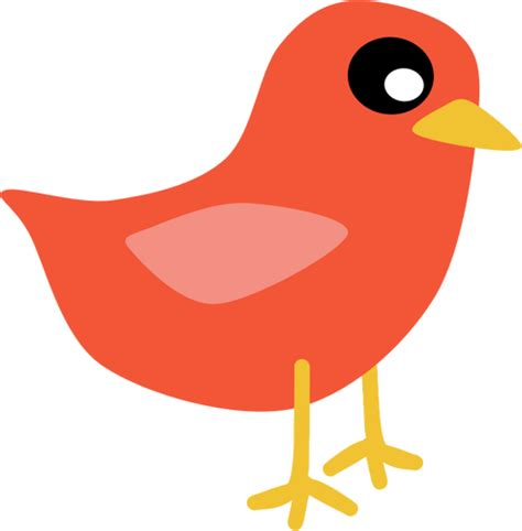 clipart domain cardinal bird vector clip domain vectors