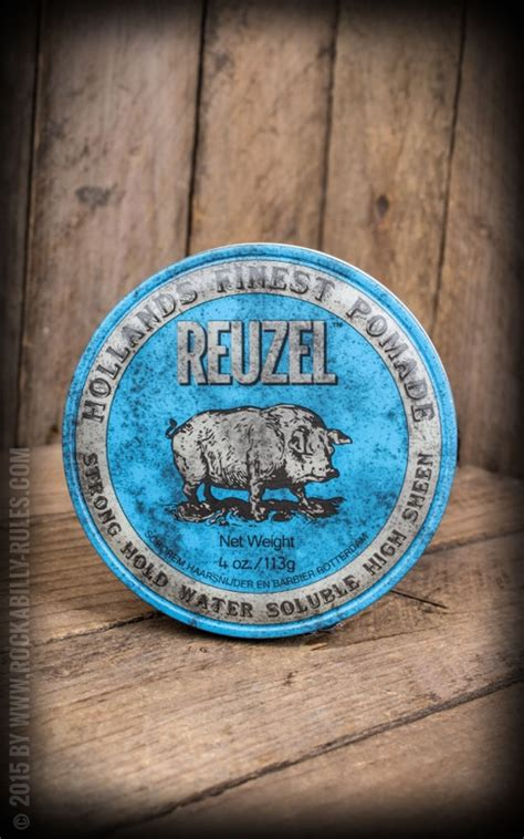 Pomade The Hyper Strong Waterbased reuzel pomade strong hold high sheen top choice