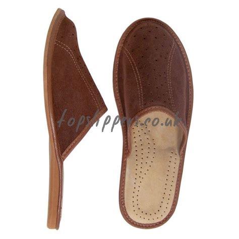 leather house slippers for men buy velour leather house slippers mules for men model no 310