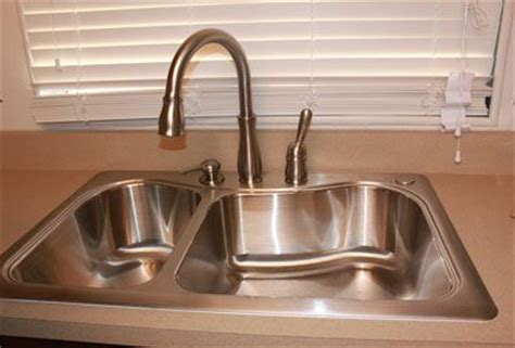 install delta kitchen faucet how to install a delta kitchen faucet
