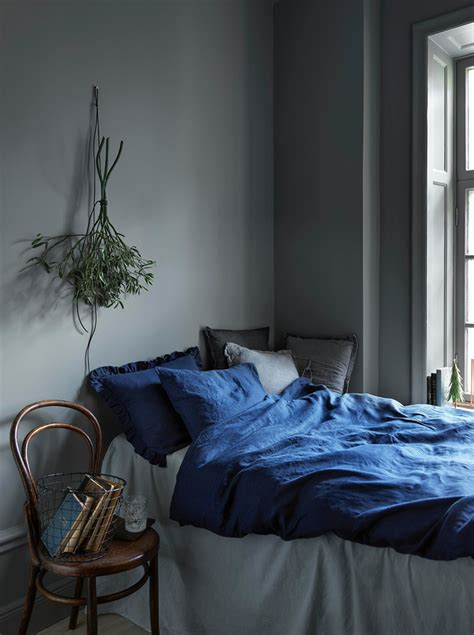 indigo bedroom christmas inspiration in grey and blue 79 ideas