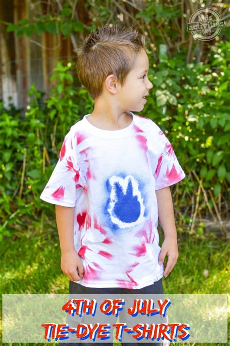 4th of july tie dye t shirts