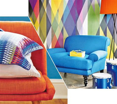 colourful wallpaper uk geometric and colourful designs for your home style