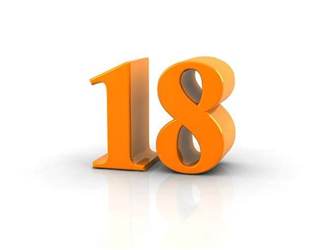 number 18 pictures images and stock photos istock