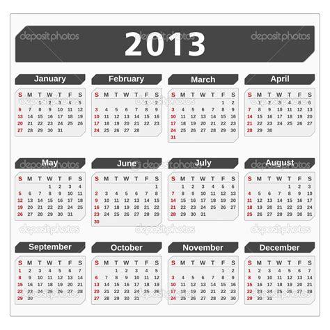 Calendar Of 2013 2013 Calendar