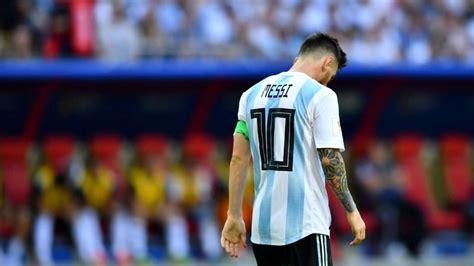 world cup   lionel messi retire