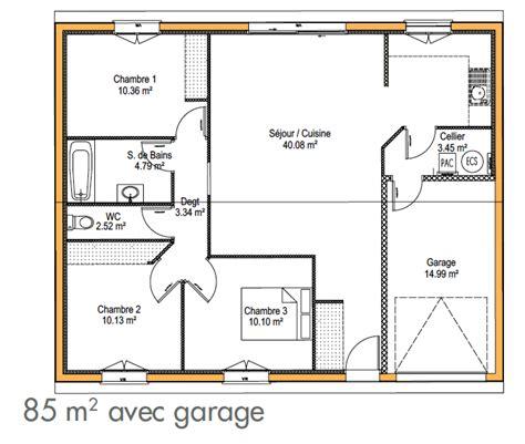 Plan De Maison Gratuit A Telecharger 3144 by Cuisine Plan De Maison Simple Plain Pied Plan De Maison