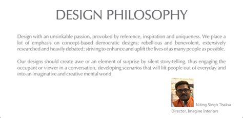 design is philosophy a philosophy of interior design home design