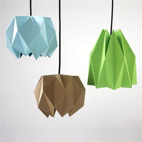 Folded Paper L Shade - origami l 2