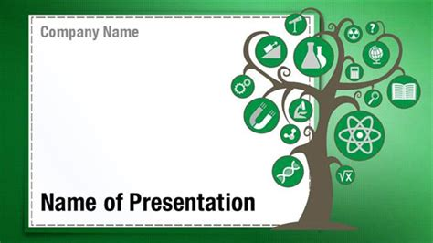 themes in education of little tree education tree powerpoint templates education tree