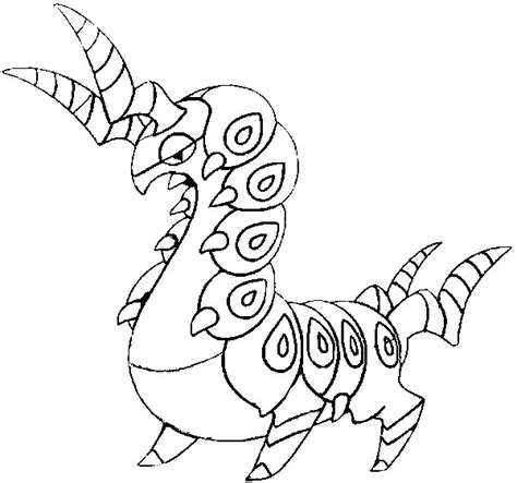 pokemon coloring pages scolipede dibujos para colorear pokemon scolipede dibujos pokemon