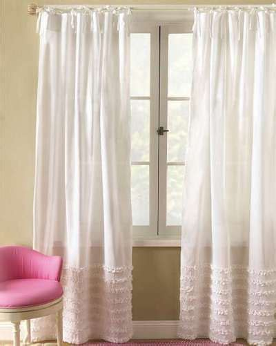 Top 11 Ideas About Country Style Look With Ruffled White Ruffled Curtains For Nursery