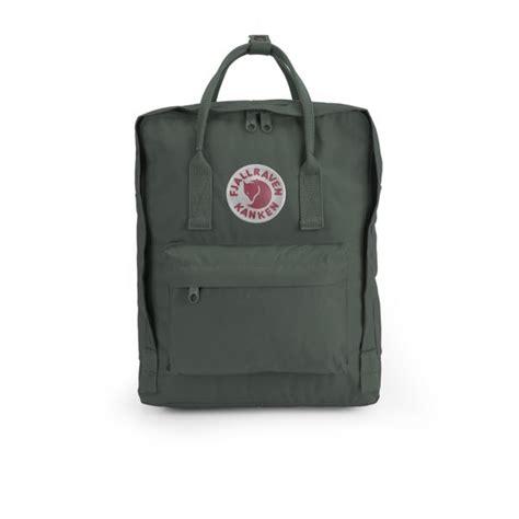 Fjallraven Kanken Color Forest Greenox fjallraven kanken backpack forest green mens accessories thehut