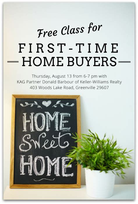 free class for time home buyers kidding around