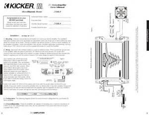 kicker cx600 1 amp wiring diagram get free image about wiring diagram