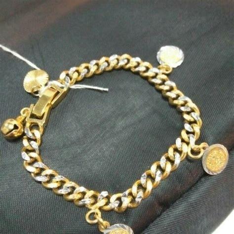 Gelang Rajut Handmade 1 gelang emas 916 s fashion jewellery on carousell