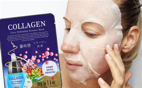K Collagen review malie collagen ultra hydrating essence mask