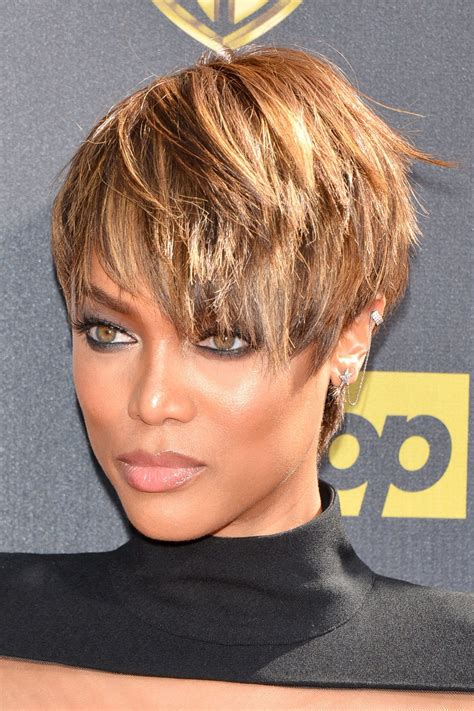 google cute haircuts women hair loss tyra banks short hairstyle google search hair n there
